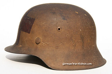 M42 NS64 German Medic Helmets H198