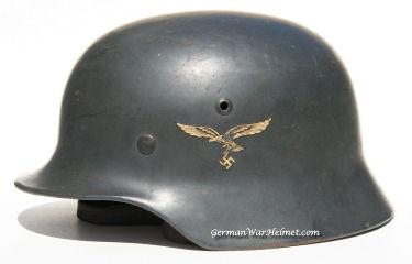 WW2 M35 SE68 German Luftwaffe Helmet H191