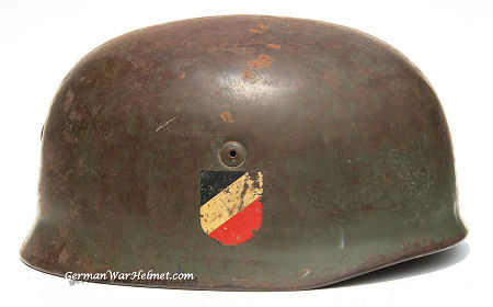 WW2 M38 ET71 German Paratrooper Helmet H160