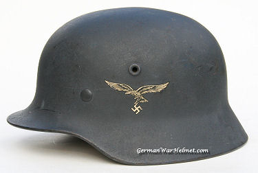 WW2 M40 Q64 German Luftwaffe Helmets H236