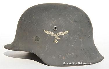 WW2 M42 NS64 German Luftwaffe Helmets H180